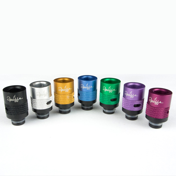 Drip tips with airflow